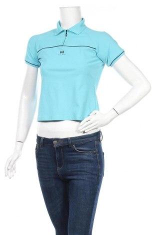 Дамска тениска Helly Hansen, Размер S, Цвят Син, Полиамид, Цена 16,24лв.