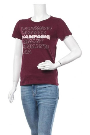 Дамска тениска J.Crew, Размер XS, Цвят Червен, Памук, Цена 44,50лв.