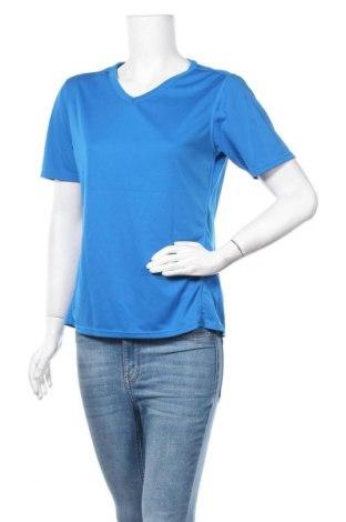 Дамска тениска K Tec, Размер L, Цвят Син, Полиестер, Цена 6,25лв.