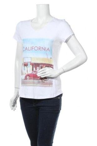 Дамска тениска Kangaroos, Размер M, Цвят Бял, 95% памук, 5% еластан, Цена 28,47лв.