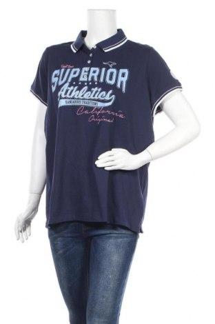 Дамска тениска Kangaroos, Размер XXL, Цвят Син, 95% памук, 5% еластан, Цена 28,47лв.