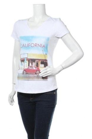 Дамска тениска Kangaroos, Размер M, Цвят Бял, 95% памук, 5% еластан, Цена 23,36лв.