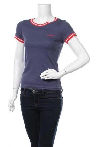 Дамска тениска Kangaroos, Размер XS, Цвят Син, Памук, Цена 23,36лв.