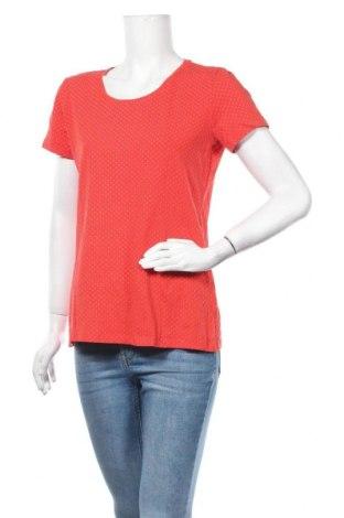 Дамска тениска Laura Torelli, Размер M, Цвят Червен, 95% памук, 5% еластан, Цена 12,29лв.