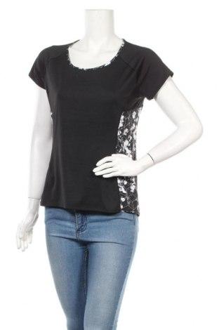 Дамска тениска Marks & Spencer, Размер L, Цвят Черен, 92% полиестер, 8% еластан, Цена 14,96лв.