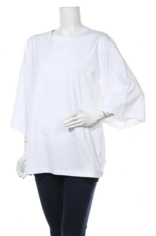 Дамска тениска Monki, Размер XS, Цвят Бял, Памук, Цена 18,00лв.