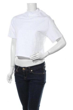 Дамска тениска Monki, Размер XXS, Цвят Бял, Памук, Цена 12,48лв.