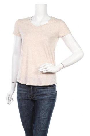 Дамска тениска Mossimo, Размер XS, Цвят Бежов, 60% памук, 40% полиестер, Цена 15,75лв.