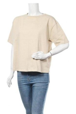Дамска тениска Na-Kd, Размер L, Цвят Бежов, Памук, Цена 18,00лв.