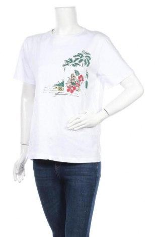 Дамска тениска Native Youth, Размер S, Цвят Бял, Памук, Цена 19,50лв.