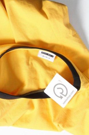 Дамска тениска Noisy May, Размер XS, Цвят Жълт, Памук, Цена 13,00лв.