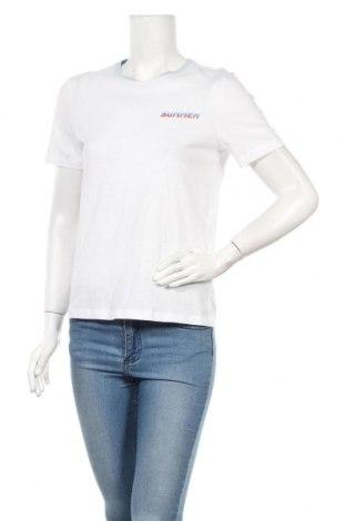 Дамска тениска ONLY, Размер S, Цвят Бял, Памук, Цена 13,00лв.