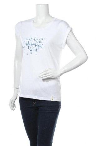 Дамска тениска Ocean, Размер S, Цвят Бял, 65% полиестер, 35% вискоза, Цена 17,00лв.