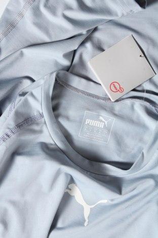 Дамска тениска PUMA, Размер M, Цвят Син, 80% полиестер, 20% еластан, Цена 17,25лв.