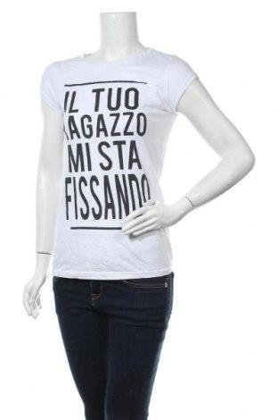 Дамска тениска Piazza Italia, Размер M, Цвят Бял, Цена 15,75лв.