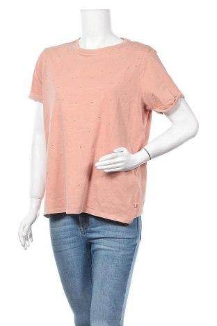 Дамска тениска Q/S by S.Oliver, Размер L, Цвят Розов, Памук, Цена 29,25лв.