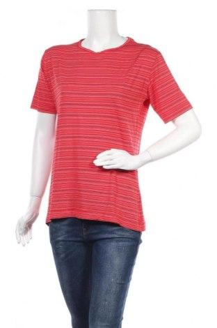 Дамска тениска Red Green, Размер L, Цвят Червен, 80% вискоза, 15% полиестер, 5% еластан, Цена 14,18лв.