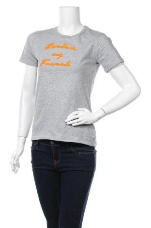 Дамска тениска Second Female, Размер S, Цвят Сив, Цена 9,45лв.