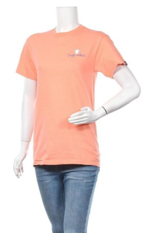 Γυναικείο t-shirt Simply Southern, Μέγεθος S, Χρώμα Πορτοκαλί, Βαμβάκι, Τιμή 6,49€