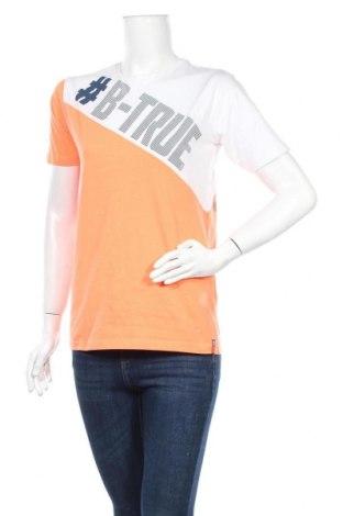 Дамска тениска Staccato, Размер L, Цвят Многоцветен, Памук, Цена 23,52лв.