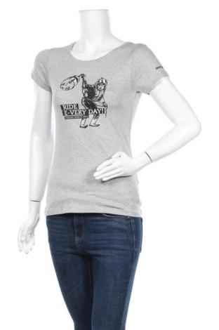 Дамска тениска Stanley Stella, Размер XS, Цвят Сив, Памук, Цена 10,08лв.