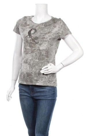 Дамска тениска Street One, Размер M, Цвят Сив, Памук, Цена 11,76лв.
