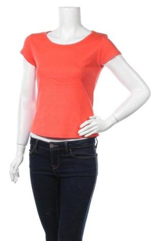 Дамска тениска Switcher, Размер M, Цвят Оранжев, Памук, Цена 10,08лв.