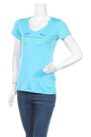 Дамска тениска Under Armour, Размер S, Цвят Син, Полиестер, Цена 17,64лв.