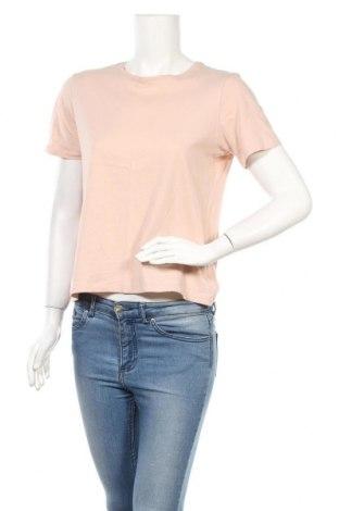 Дамска тениска Zara, Размер M, Цвят Розов, Цена 8,93лв.