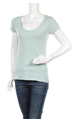 Дамска тениска Zebra, Размер M, Цвят Син, 95% памук, 5% еластан, Цена 10,92лв.