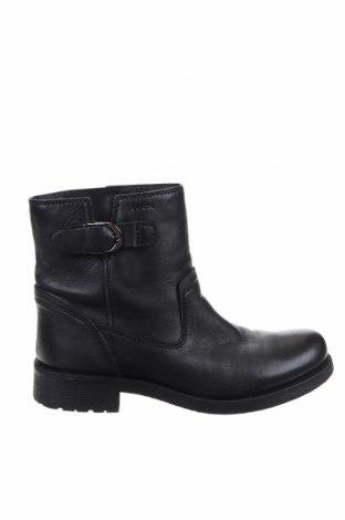 Дамски ботуши Geox, Размер 38, Цвят Черен, Естествена кожа, Цена 179,25лв.