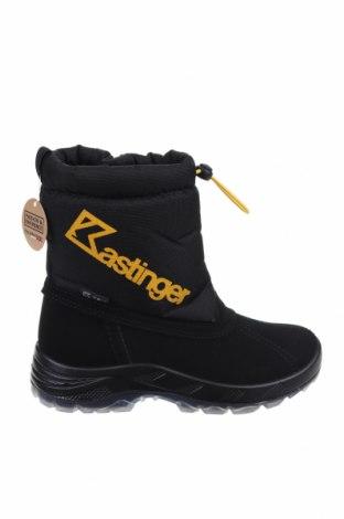Детски обувки Kastinger, Размер 33, Цвят Черен, Еко кожа, текстил, Цена 32,80лв.