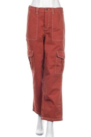 Дамски дънки BDG, Размер M, Цвят Червен, Памук, Цена 30,72лв.