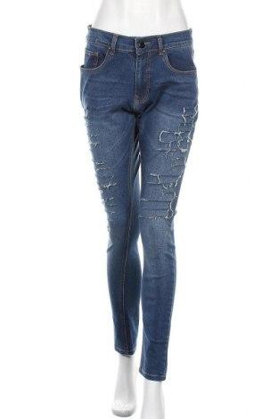 Дамски дънки Criminal Damage, Размер M, Цвят Син, 98% памук, 2% еластан, Цена 44,25лв.