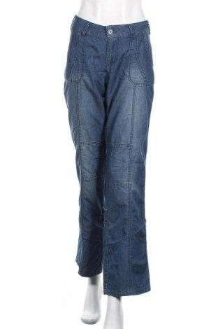 Дамски дънки Denim 1982, Размер L, Цвят Сив, 68% памук, 32% полиестер, Цена 25,20лв.
