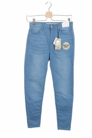 Дамски дънки Denim&Co., Размер S, Цвят Син, 73% памук, 25% полиестер, 2% еластан, Цена 26,62лв.