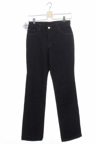 Дамски дънки Edwin, Размер XS, Цвят Син, 97% памук, 3% полиуретан, Цена 30,24лв.