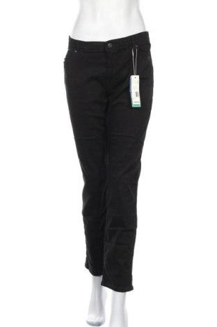 Дамски дънки Esprit, Размер XL, Цвят Черен, 98% памук, 2% еластан, Цена 32,40лв.
