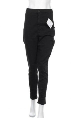 Дамски дънки Even&Odd, Размер XXL, Цвят Черен, 75% памук, 22% полиестер, 3% еластан, Цена 30,74лв.