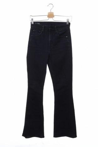 Дамски дънки G-Star Raw, Размер XS, Цвят Син, 35% памук, 35% лиосел, 28% полиестер, 2% еластан, Цена 171,75лв.