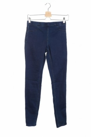 Дамски дънки H&M, Размер XS, Цвят Син, Цена 22,05лв.