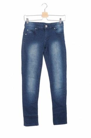 Дамски дънки Jeanswest, Размер XS, Цвят Син, 78% памук, 20% полиестер, 2% еластан, Цена 5,51лв.