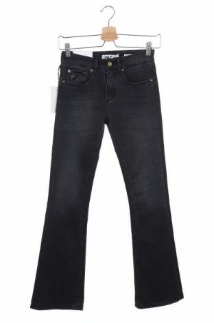Дамски дънки Lois, Размер XS, Цвят Сив, 54% памук, 29% полиестер, 15% вискоза, 2% еластан, Цена 20,65лв.
