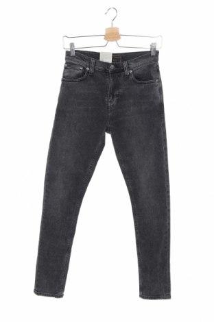 Blugi de bărbați Nudie Jeans Co, Mărime XS, Culoare Gri, 99% bumbac, 1% elastan, Preț 138,16 Lei