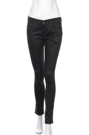 Дамски дънки Pepe Jeans, Размер L, Цвят Черен, 64% памук, 32% полиестер, 4% еластан, Цена 56,88лв.