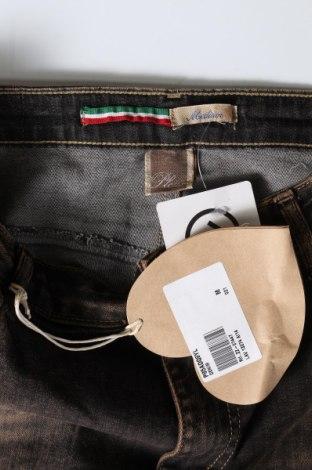 Дамски дънки Please, Размер M, Цвят Кафяв, 98% памук, 2% еластан, Цена 25,80лв.