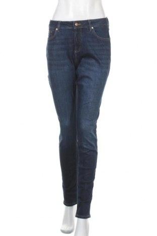 Дамски дънки Q/S by S.Oliver, Размер L, Цвят Син, 86% памук, 13% полиестер, 1% еластан, Цена 66,75лв.