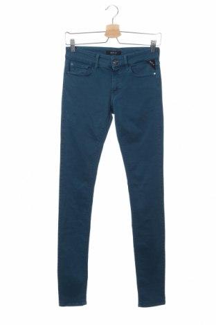Дамски дънки Replay, Размер XS, Цвят Син, 91% памук, 9% еластан, Цена 74,70лв.
