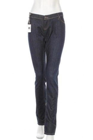 Дамски дънки Roxy, Размер XL, Цвят Син, 98% памук, 2% еластан, Цена 62,37лв.