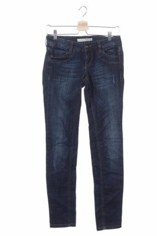 Дамски дънки Tom Tailor, Размер S, Цвят Син, 99% памук, 1% еластан, Цена 51,45лв.